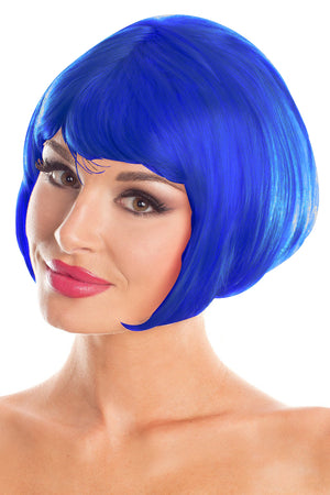 Royal Blue Bob Party Wig
