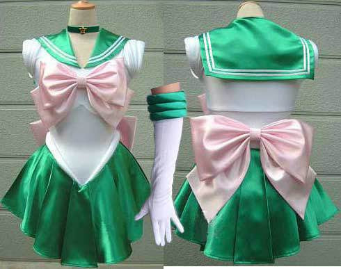 Sailor Jupiter Cosplay Costume
