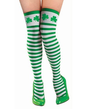 Saint Patrick's Day Thigh High Stockings