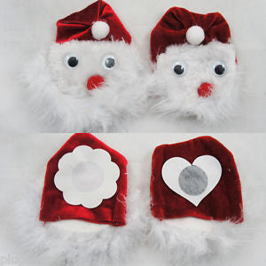 Santa Nipple Covers
