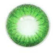 Natural Two Tone Green Contact Lenses