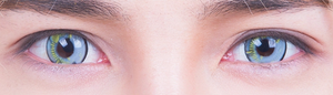Grey Anime Contact Lenses