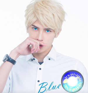Blue Anime Contact Lenses