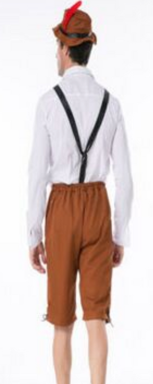 Simple Brown Lederhosen
