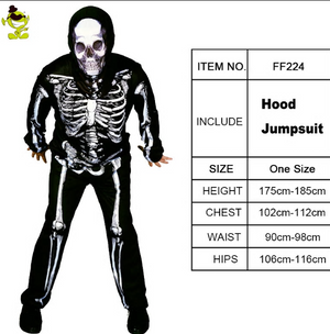 Men's Skeleton Jumpsuit