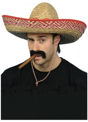 Straw Sombrero Mexican Hat