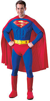 Deluxe Adult Superman Jumpsuit