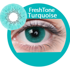 Freshtone Super Naturals: Turqouise Contact Lenses