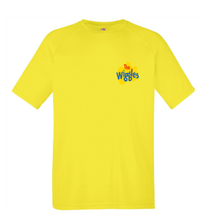 The Wiggles: Yellow Short Sleeved T-Shirt