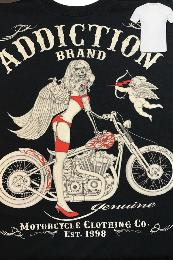 Addicton: Motorcycle Men's T-Shirt