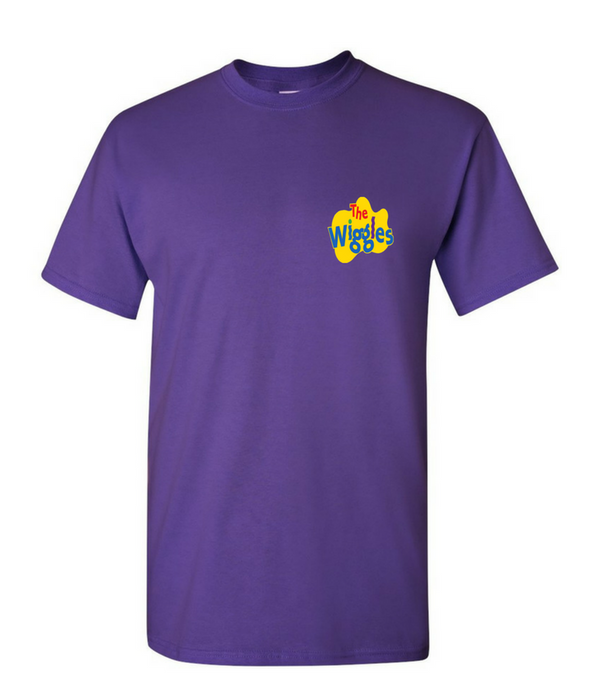 The Wiggles: Purple Short Sleeved T-Shirt