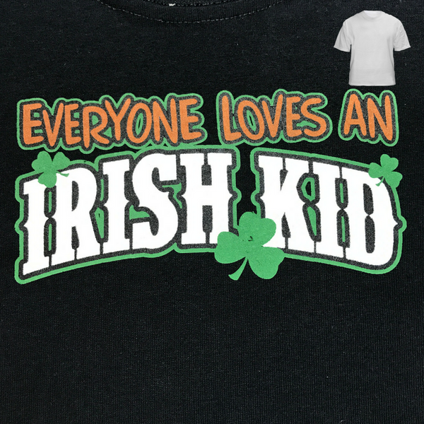 Everyone Love and Irish Kid - Kid's T-shirt