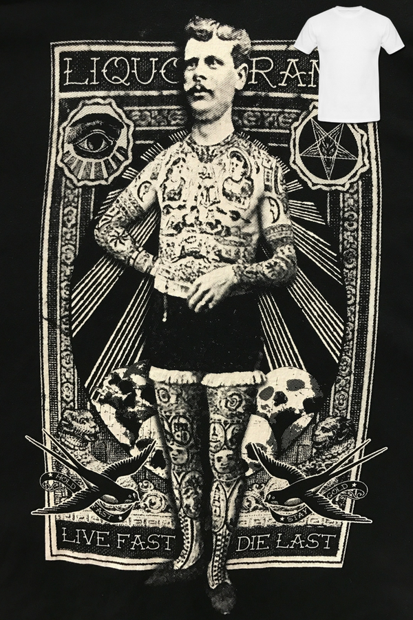 Liquorbrand: Tattoo Man T-Shirt
