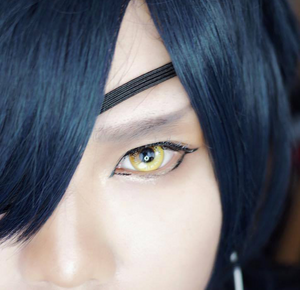 Yellow Anime Contact Lenses