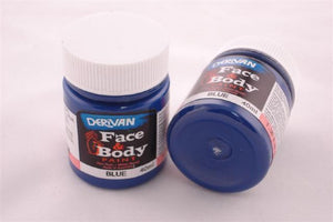 Derivan Face & Body Paint - Blue