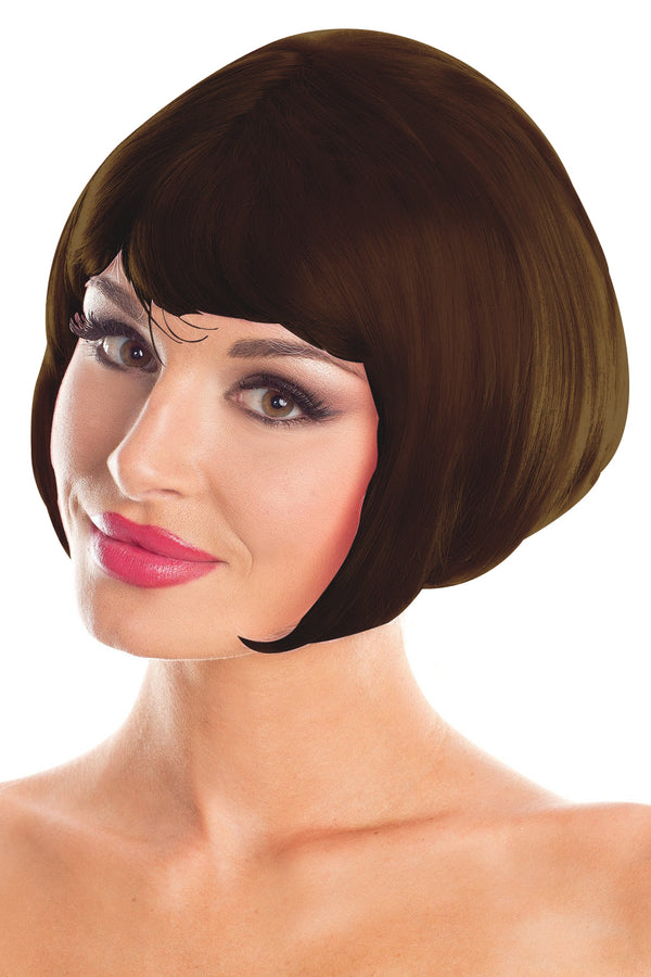 Brown Bob Party Wig