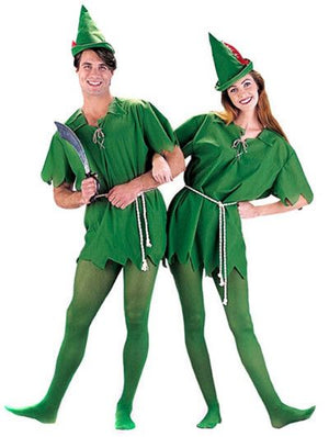 Unisex Peter Pan Costume