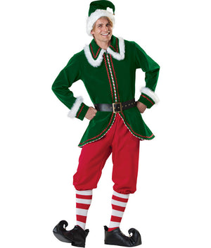 Deluxe Elf Mens Costume