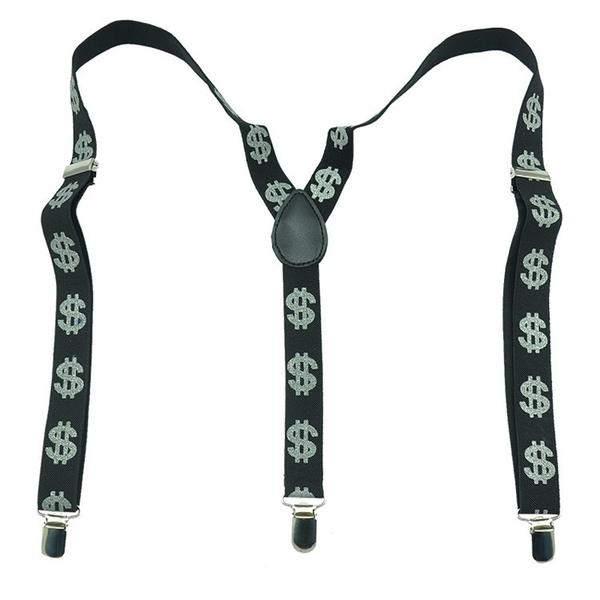Dollar Sign Suspenders