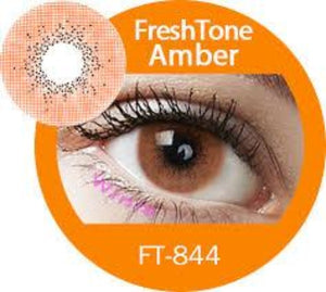 Freshtone Super Naturals: Amber Contact Lenses