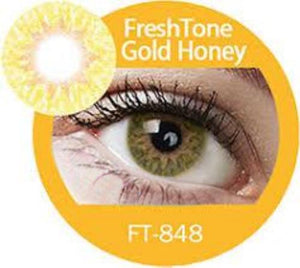 Freshtone Gold Honey Contact Lenses