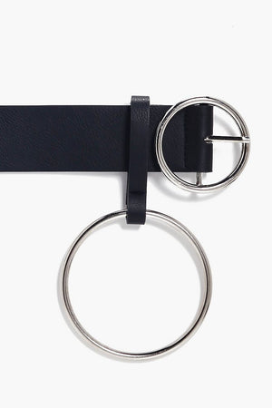 Black Belt with Ring