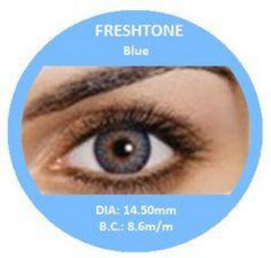 Freshtone Blue Contact Lenses