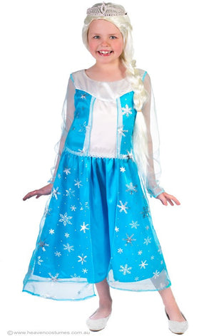 Deluxe Elsa Girls Costume