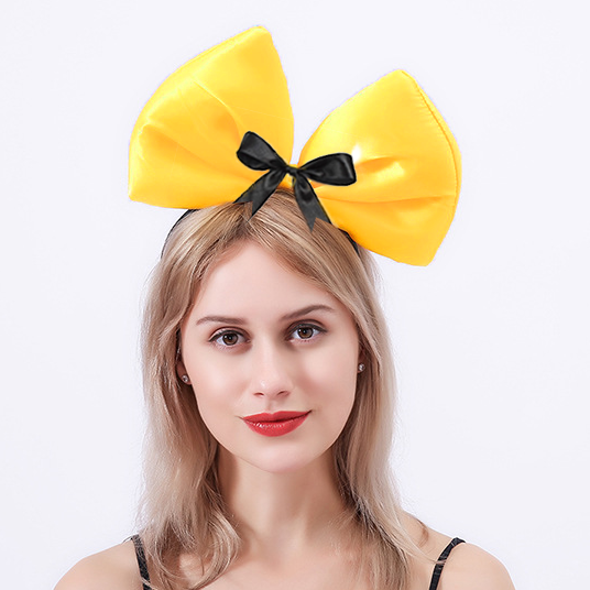 The Wiggles: Deluxe Yellow Emma Wiggle Hair Bow
