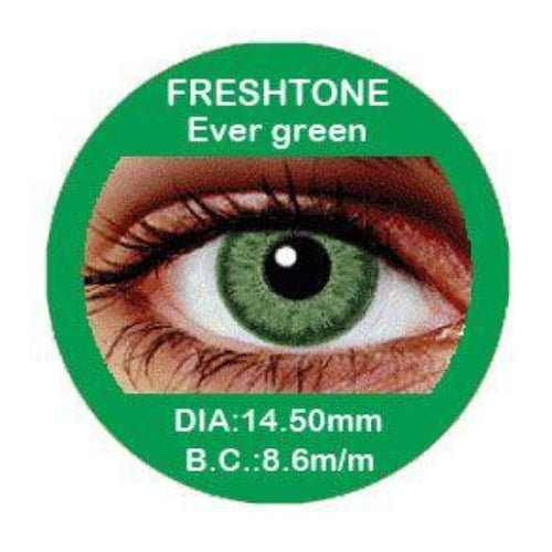 Freshtone Evergreen Contact Lenses