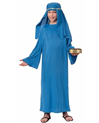 Kid's Biblical Blue Wiseman Robe