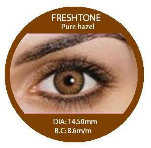 Freshtone Pure Hazel Contact Lenses