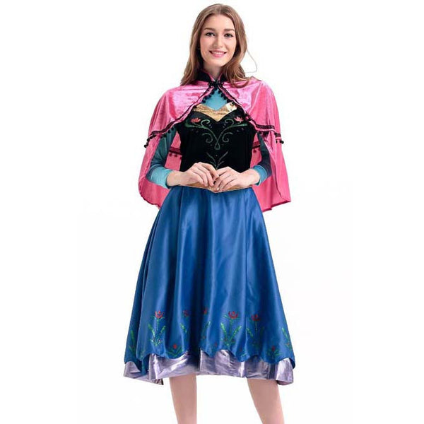 Deluxe Disney Frozen Anna Adult Costume