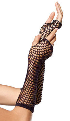 Fishnet Fingerless Gloves *8 Colours*