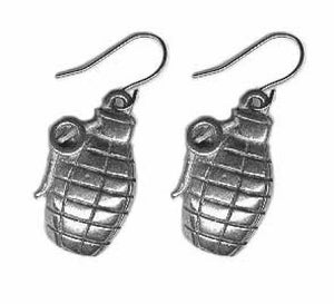Grenade Earrings