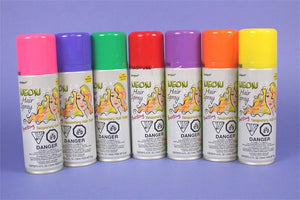 Coloured Hairspray