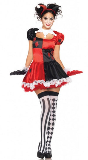 Harley Quinn Clown Dress