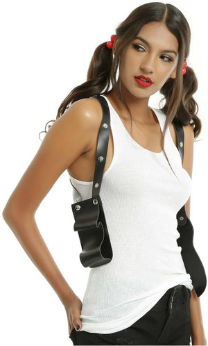 Harley Quinn Over the Shoulder Gun Holster