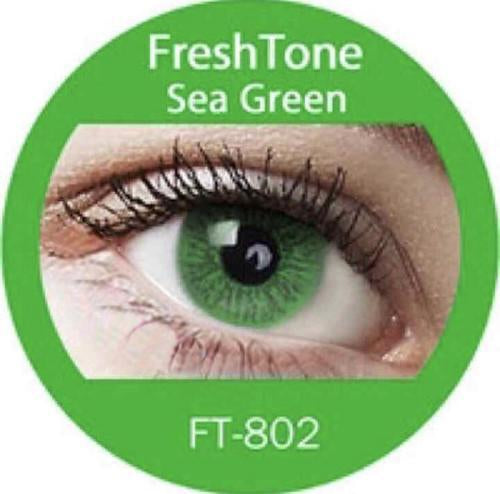 Freshtone Sea Green Contact Lenses