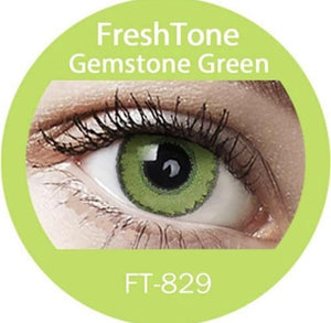 Freshtone Gemstone Green Contact Lenses