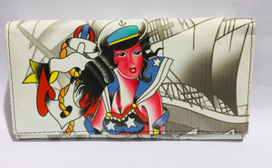 Purse Tattoo Pinup Sailor Girl