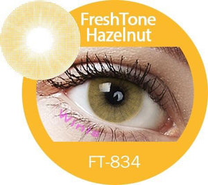 Freshtone Super Naturals: Hazelnut Contact Lenses