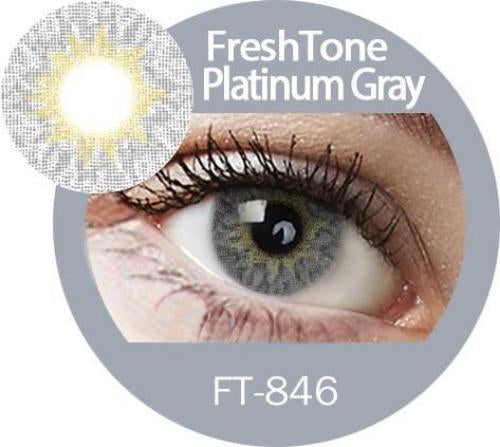 Freshtone Platinum Grey Contact Lenses