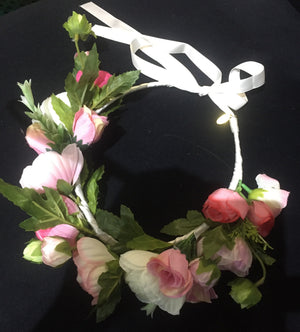 Flower Crown Light Pink