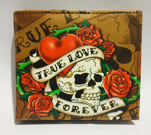 Wallet Brown True Love Forever