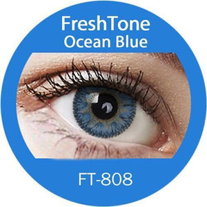 Freshtone Ocean Blue Contact Lenses