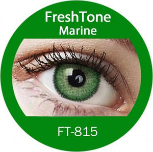 Freshtone Marine Green Contact Lenses
