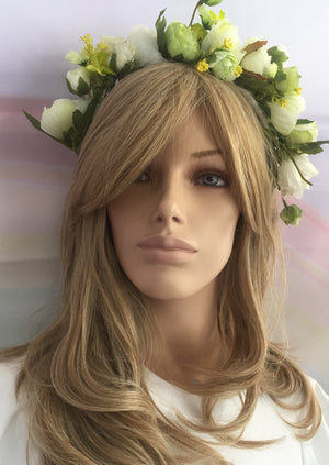 Flower Crown White