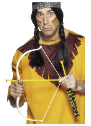 Native American Indian Bow and Arrow