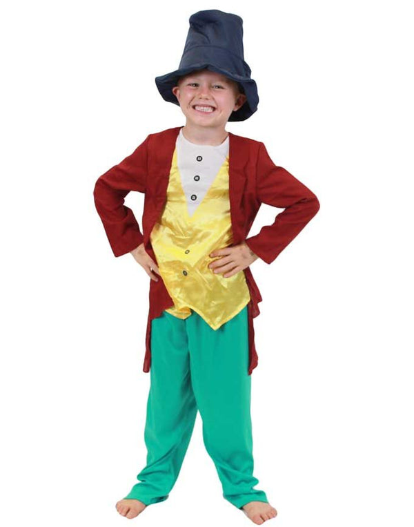 Boys Wonka Chocolate Factory Costume